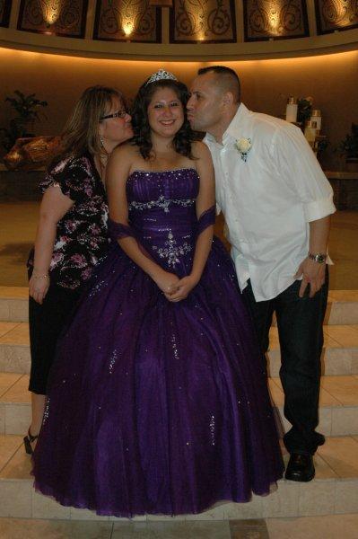 Malissa with her Nino & Nina