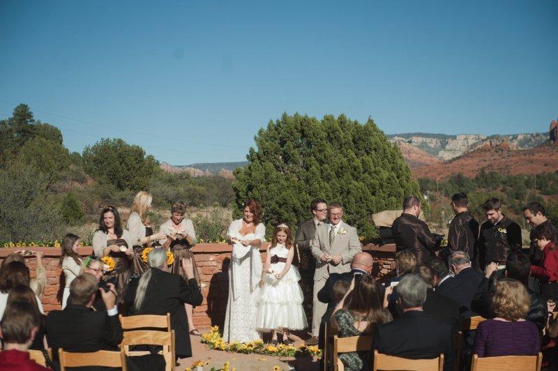 Ceremony in Sedona