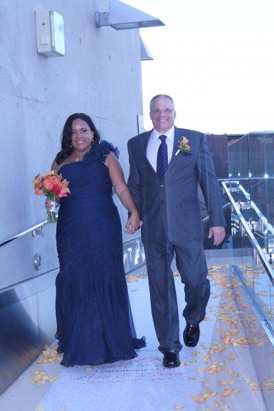 The New Mr. & Mrs. Brad Clark