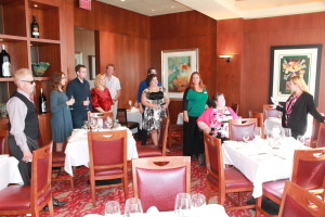 Tour of a private dining room